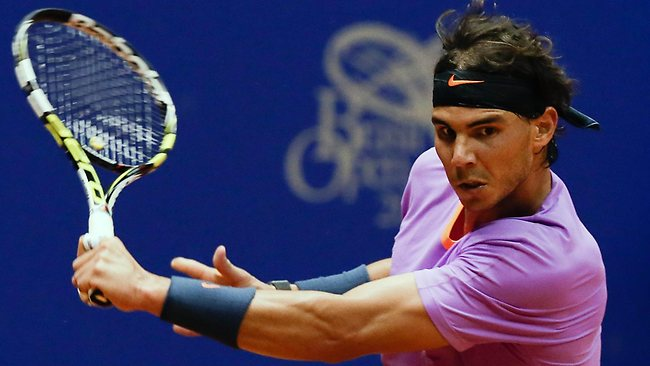 Rafael Nadal Champion of Brasil Open 2013 Pic 06
