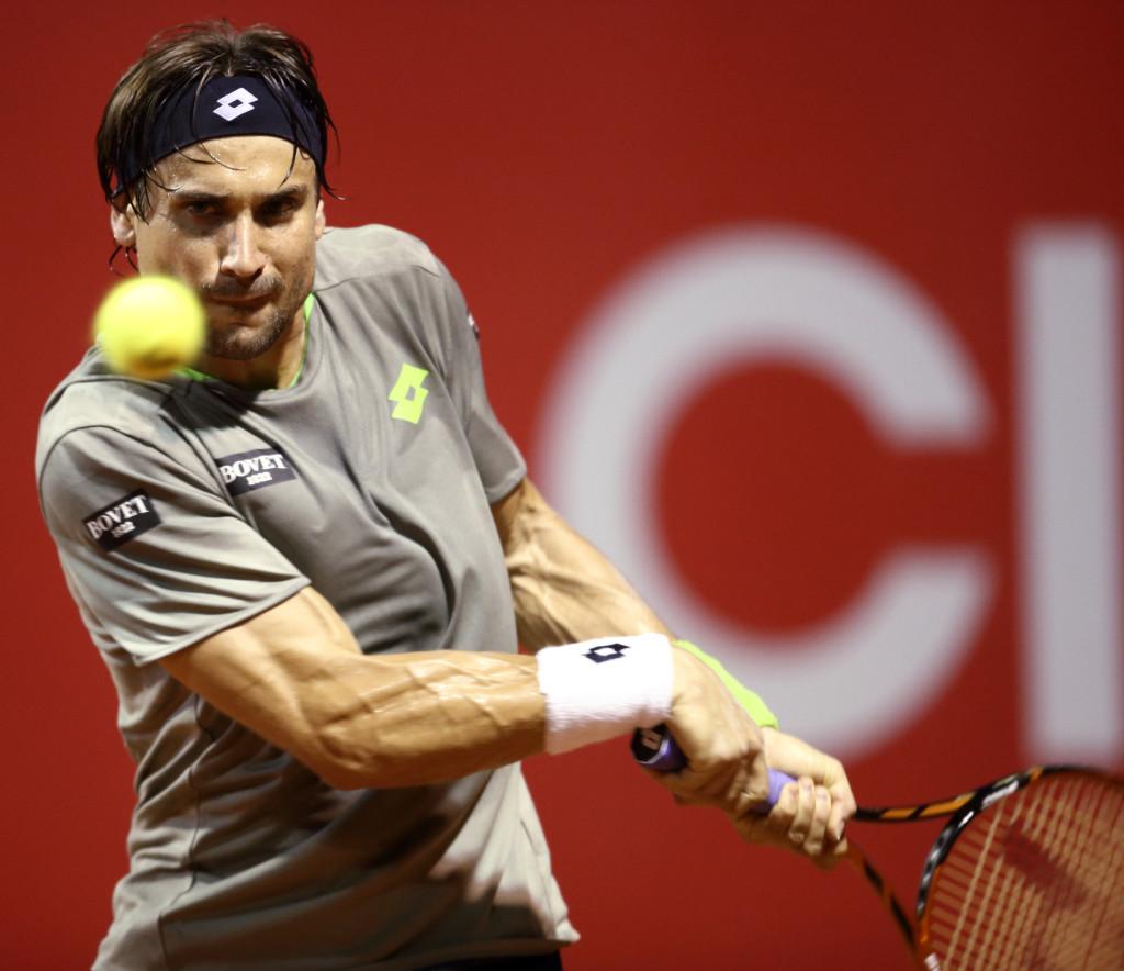 Copa Claro . David Ferrer-Maximo Gonzalez. Buenos Aires Argentina-11/02/2014