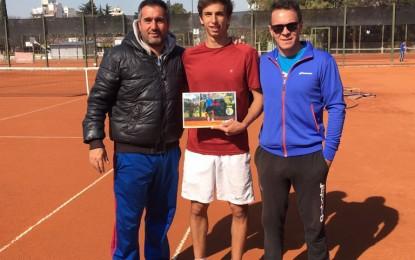 Nicolás Bianchi se consagró subcampeón en el Torneo LOT en Comunicaciones