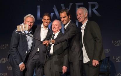 Laver Cup partido exhibición: Roger y Rafa juntos en el 2017
