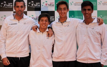Los equipos argentinos mañana debutan en las competencias junior de Davis y Fed Cup