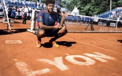 Lyon: Tsonga gana su tercer título de la temporada
