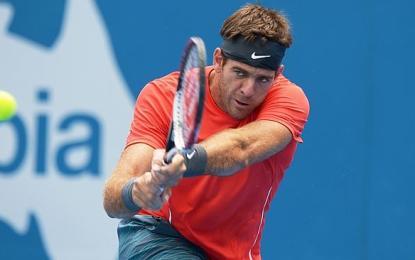 Delpo avanza y ya se encuentra en las semifinales de Sydney