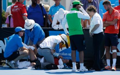 El calor, el verdadero rival del Australian Open