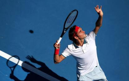 La misteriosa raqueta de Roger Federer