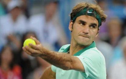 Roger Federer y David Ferrer en la final de Cincinnati