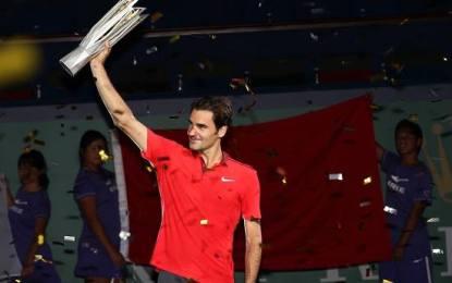 Roger Federer se consagró campeón en Shangai por primera vez