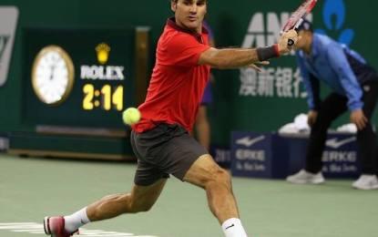 Roger Federer y Gilles Simon finalistas en Shangai
