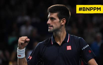 Semifinales en Paris ATP 1000