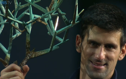 Novak Djokovic campeón en Paris