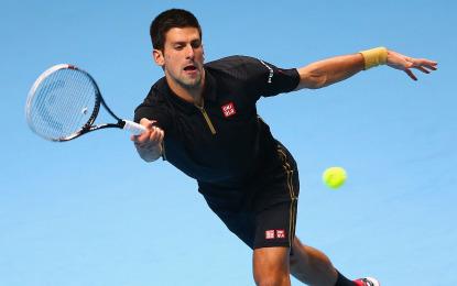 Novak Djokovic finalista en el Torneo de Maestros