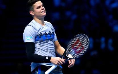 Milos Raonic se baja de las finales ATP