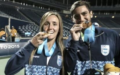 María Irigoyen y Guido Andreozzi, en doble mixto, ganaron medallas de oro