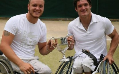 Orgullo argentino : Gustavo Fernandez campeón de dobles en Wimbledon