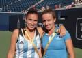 Paula Ormaechea y María Irigoyen ganaron la medalla de bronce en dobles femenino