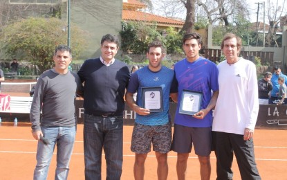 Hernán Casanova se consagró campeón en el Future de Vicente López