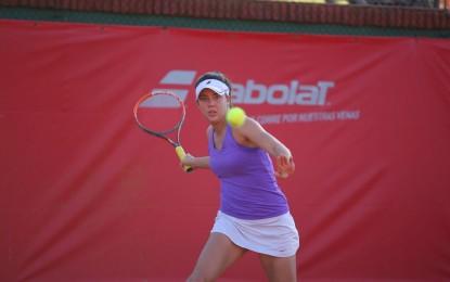 Women's Circuit 4: Carla Lucero es  semifinalista