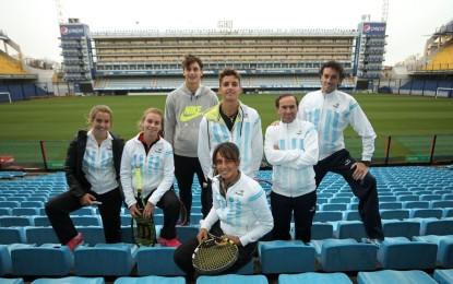 Argentina debuta en la Junior Davis Cup y la Junior Fed Cup