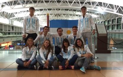 Los seleccionados nacionales Sub 16, de varones y mujeres, viajaron hoy hacia Madrid