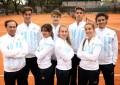 Davis Cup y Fed Cup Junior : Equipos argentinos, los chicos terminaron 6º y las chicas 12º .
