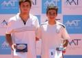 Masters de Menores: Chlpac y Aranda, campeones Sub 18; mañana define el resto con la presencia de gran Guillermo Vilas