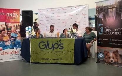 José Meolans y Eduardo Otero dieron una clínica este fin de semana en Glups.