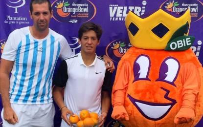 Juniors : Thiago Tirante sumó el tercer título argentino en el Orange Bowl