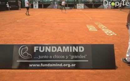 Se llevó a cabo en el estadio central del BALTC , Tenis por la vida para Fundamind