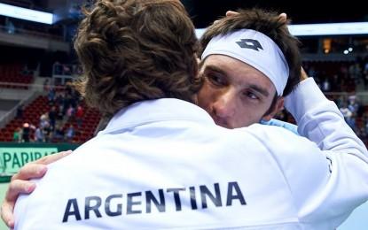Copa Davis: Argentina ganó y cumplió con la promesa, en el frio mar Báltico