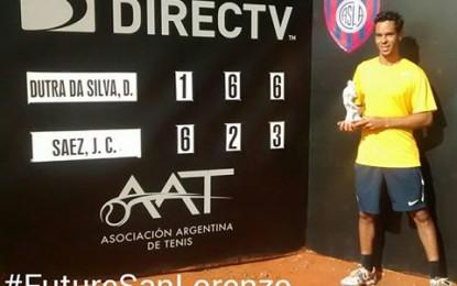 Daniel Dutra Da Silva, campeón del Future San Lorenzo