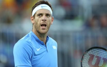 Del Potro a cuartos de final junto a Nadal, Nishikori y Murray