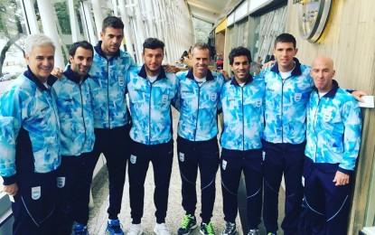 JJOO 2016 : La delegación olímpica argentina partió a Río .