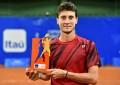 Renzo Olivo se consagró campeón del Challenger de Santos