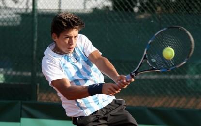 Junior de Copa Davis y Fed Cup: Los dobles definieron con éxito el debut argentino
