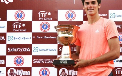 Federico Coria campeón del Future de San Juan