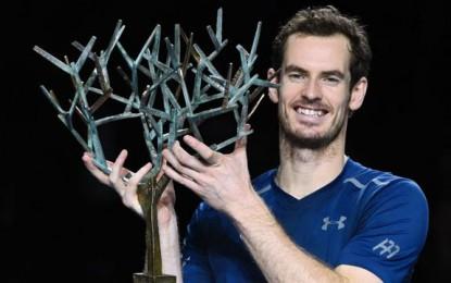 Paris: Andy Murray, hoy número 1,  es campeón del Masters 1000 .