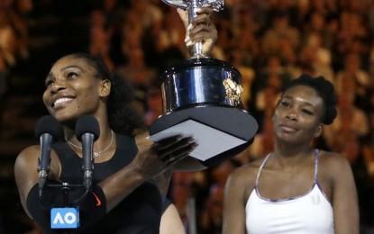 Serena Williams conquista el Australian Open