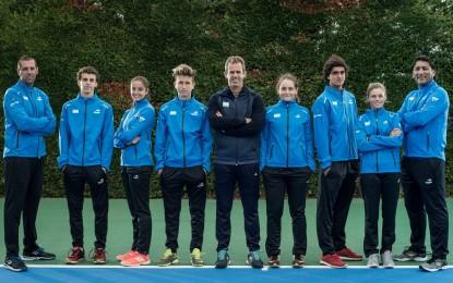 La selección Sub 16 se prepara en Bogotá para el Sudamericano clasificatorio a las competencias junior de Copa Davis y Fed Cup