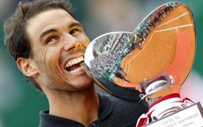 Rafael Nadal se consagrá campeón en Montecarlo