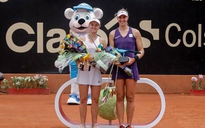 Colombia: Nadia Podoroska y Beatriz Hadad Maia campeona en dobles