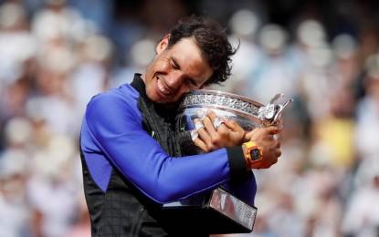 Nadal por décima vez conquistó Roland Garros