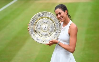 Wimbledon : Garbine Muguruza derrotó a Venus y se quedó con el título