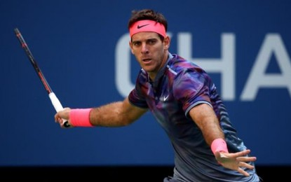 US Open: Del Potro es semifinalista, venció a Roger y va por Nadal