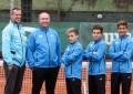 Campeones: Tirante, Midón y Sierra, en la Copa Argentina y la selección Sub 12 en la Copa COSAT