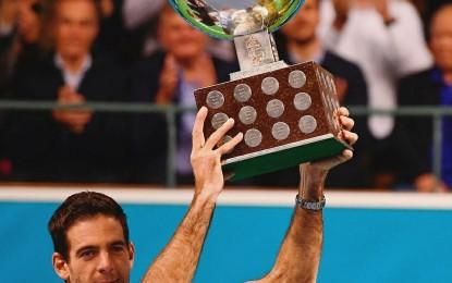 ATP de Estocolmo: Juan Martín Del Potro campeón por segunda vez consecutiva