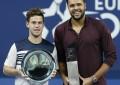 Diego Schwartzman cayó en la final de Amberes contra Jo-Wilfried Tsonga