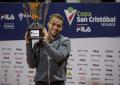 Nicolás Kicker, campeón de la Copa San Cristóbal Seguros presentada por Fila.