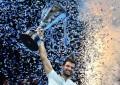 Grigor Dimitrov se consagró campeón del Masters de Londres