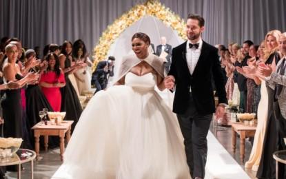 Se casaron Serena Williams y Alexis Ohanian