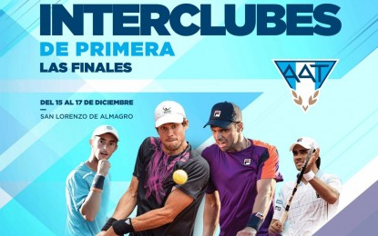 El campeonato de Interclubes de primera división se presenta este año en un nuevo formato de competencia